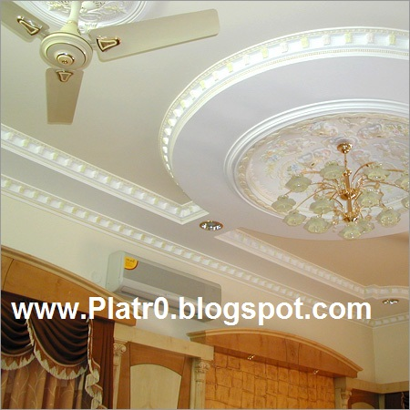 Deco Platre Libya - Décoration Platre Maroc - Faux Plafond Dalle-arc ...