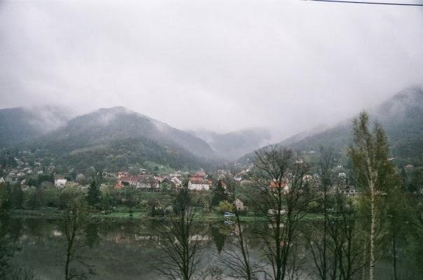 European train trip