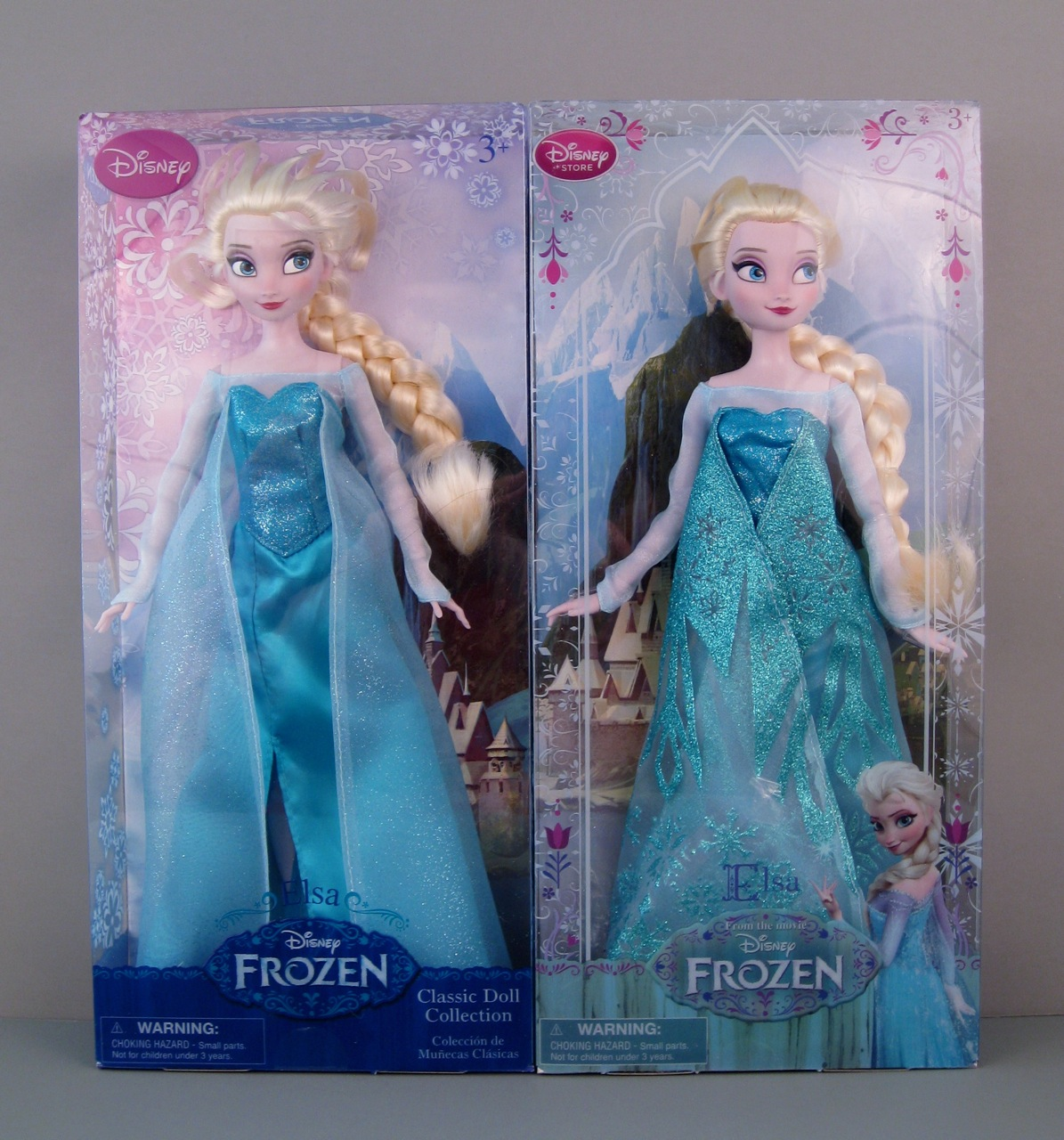 Elsa doll comparison