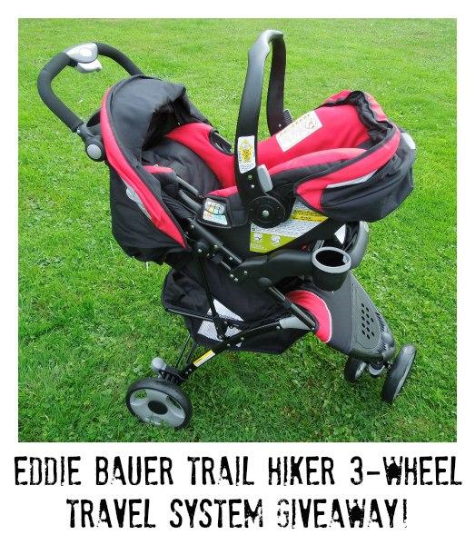 eddie bauer trail hiker 3 wheel travel system arv giveaway frugal mom eh. Black Bedroom Furniture Sets. Home Design Ideas