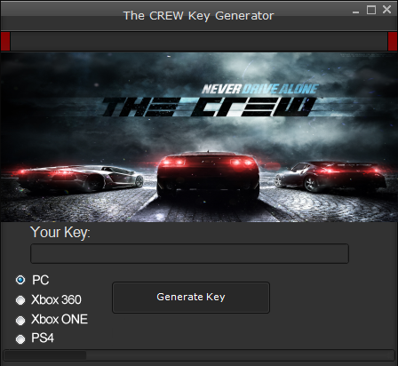 The CREW CD Key-Gen