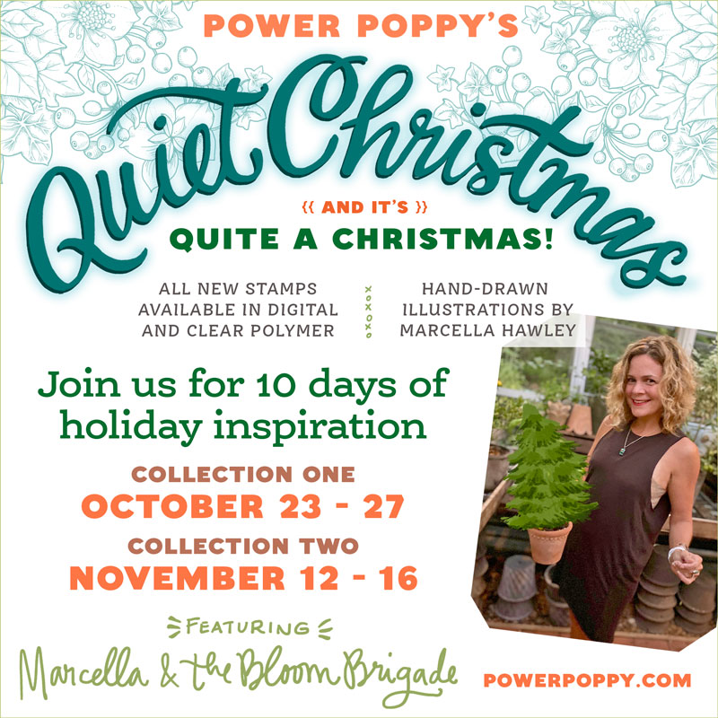 Power Poppy's Quiet Christmas Collection