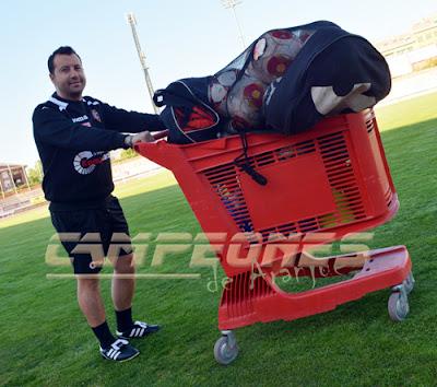 Rafa Pérez entrenador del Real Aranjuez