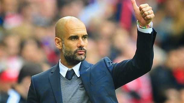 Pep Guardiola podría ser el recambio de Manuel Pellegrini en el Manchester City