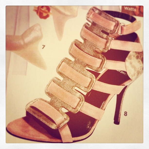 pierre hardy blush strappy sandals