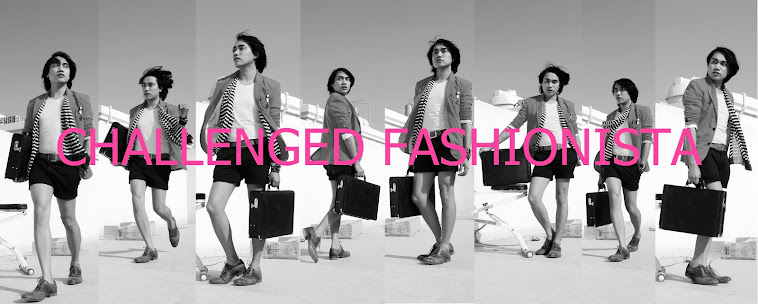 Challenged Fashionista by Aladine Sagisi