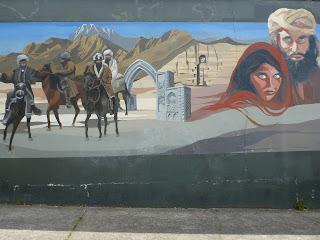 Kabul Restaurant Mural