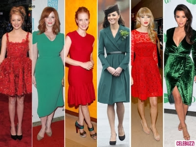 depending on the color theme of the party classic christmas colors red and green are a safe bet with the many hues these colors are a sure fit with any