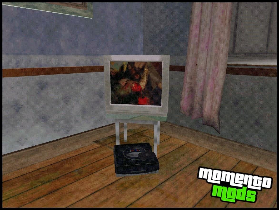 GTA SA - Mod De Assistir TV