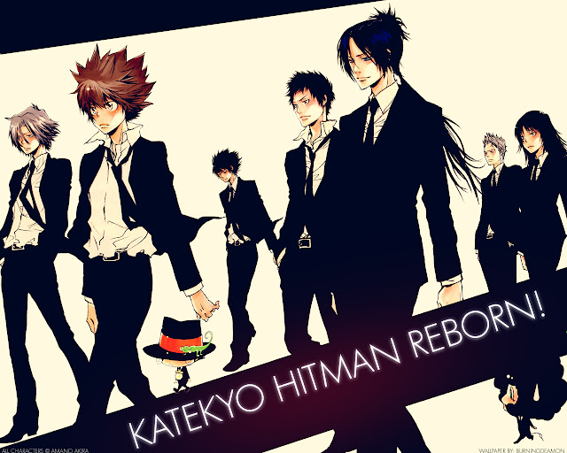 Katekyo Hitman Reborn  Wallpaper 0002