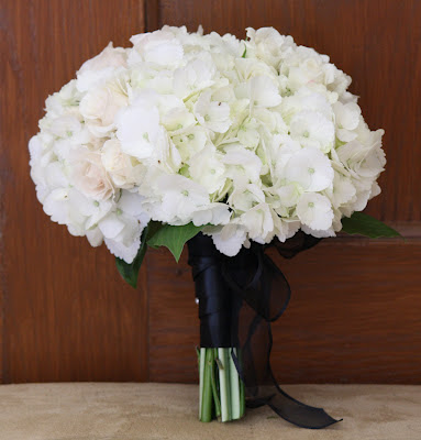 White Hydrangea Bouquet - Franklin Plaza - Splendid Stems Event Florals