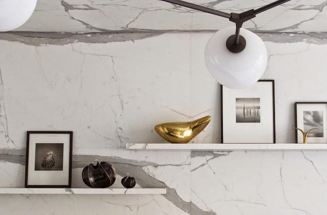 kitchen marble slab backsplash
