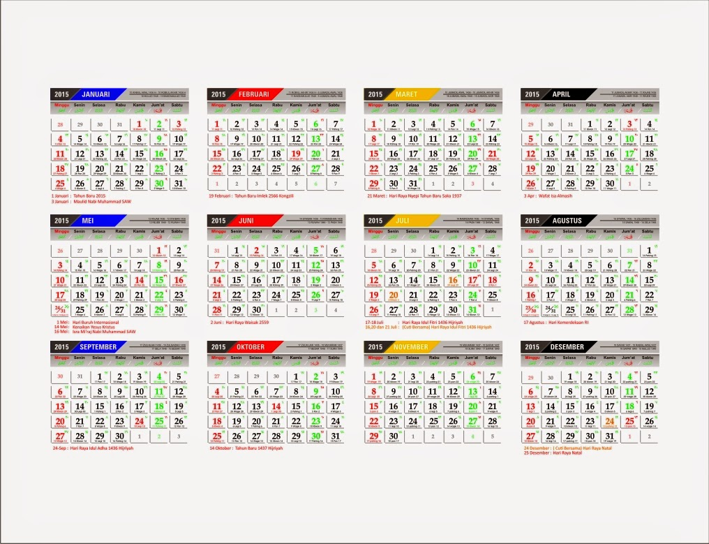 Lelender Bulan Mei 2015 | My Calendar Template Collection