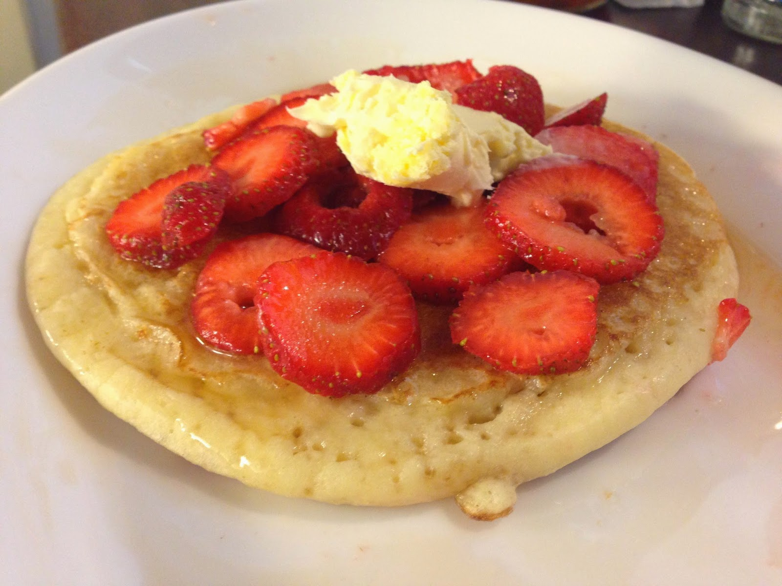 gluten free pancakes strawberries clotted cream