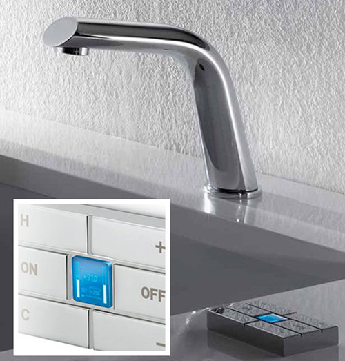 X Touch Mixer, A Multifunctional Sink Faucet, Replaced Traditional Faucet  Handle With Button Combination Panel, Which Can Be Operated Simply. VADO V  Touch ... Pictures