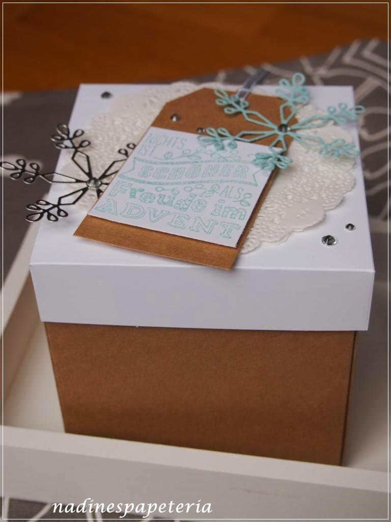 nadines papeteria weihnachtliche verpackungen. Black Bedroom Furniture Sets. Home Design Ideas
