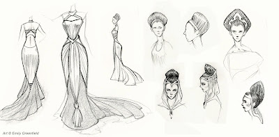 Inspired Fashion Sketches
