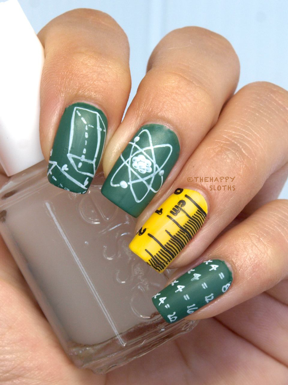 Back to School Nails Featuring MoYou London Scholar ...
