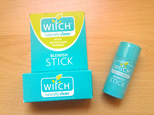 witch naturally clear blemish stick