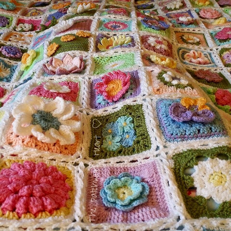 The Spring Flower Blanket
