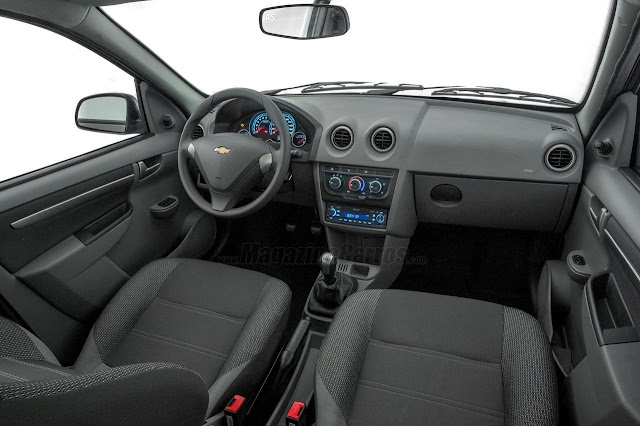 Interior do Novo Celta Advantage 2014