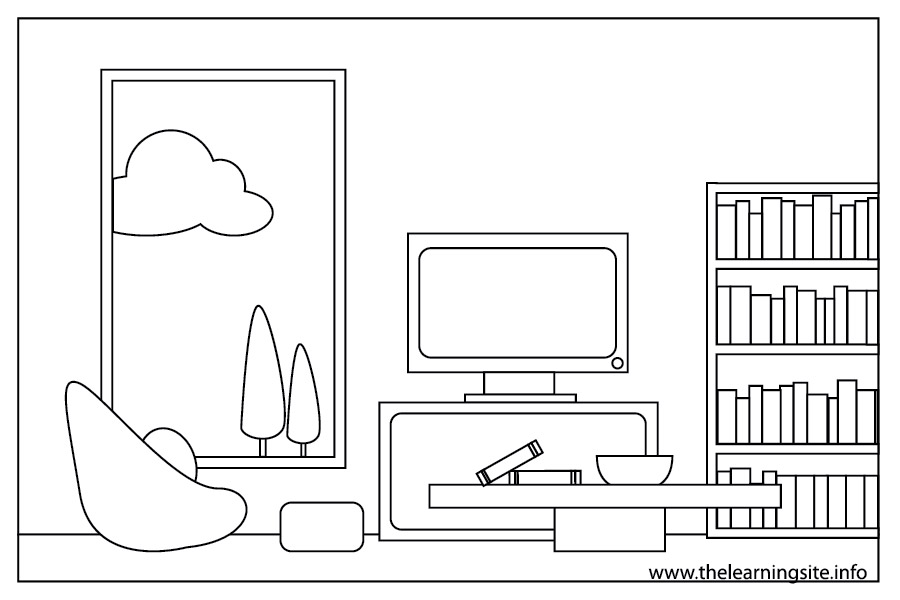 Living Room Clipart
