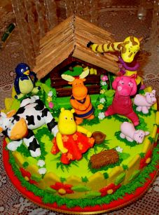 Backyardingans Cakes for Children Parties