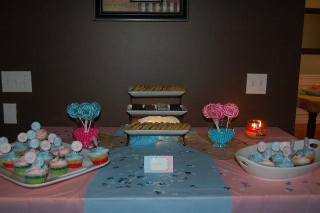 David jen max gender reveal party