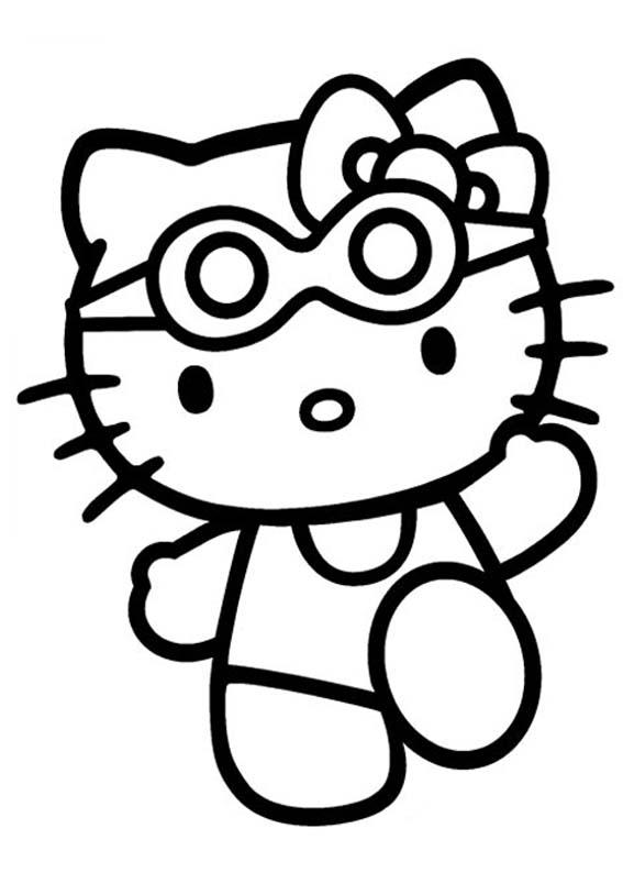 Desenho como desenhar Familia Hello Kitty pintar e colorir