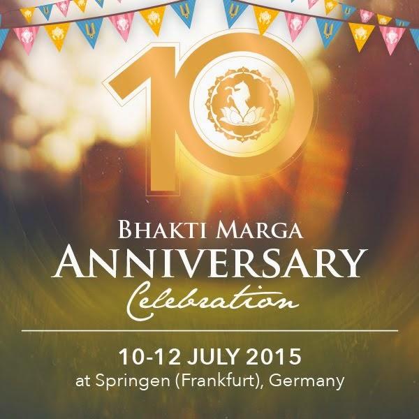 10 Anos Bhakti Marga