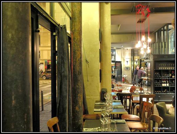 resto Circonstances 174 rue Montmartre Paris déco !