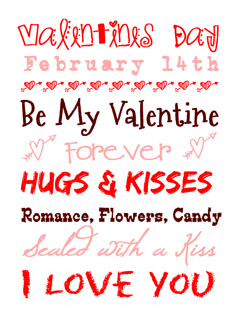 Anyone Can Decorate: FREE Valentine's Printables - 1 Corinthians 13