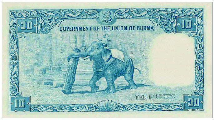Banknotes Of Burma