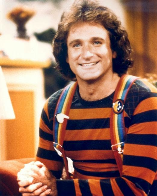 Robin Williams on Mork & Mindy