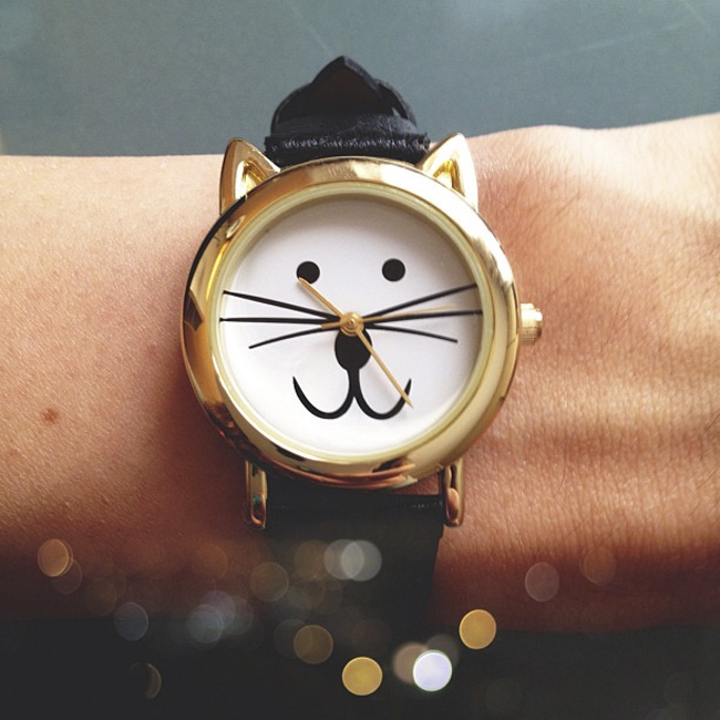 Watches With Cat Face For Women S