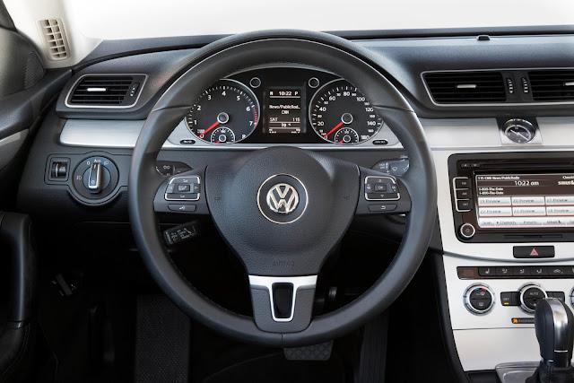 2015 Volkswagen CC interior