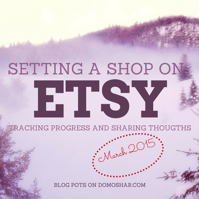 Etsy Talks - Setting a shop on Etsy - March 2015