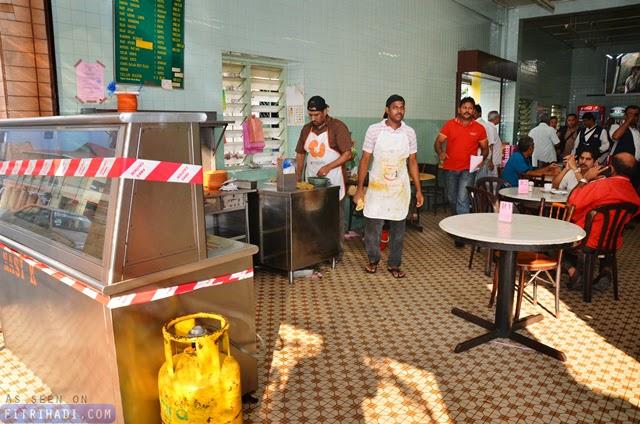 Restoran Nasi Ganja vanggey Disita najis