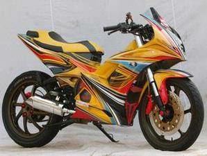 Gambar Modif Yamaha Jupiter MX Racing