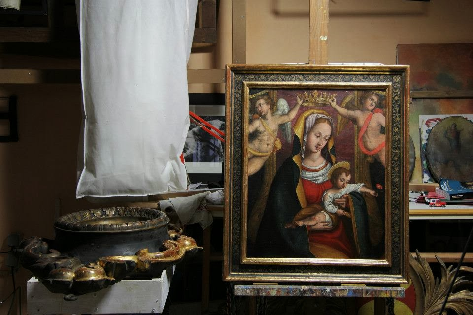 Restauration de tableaux à Nice