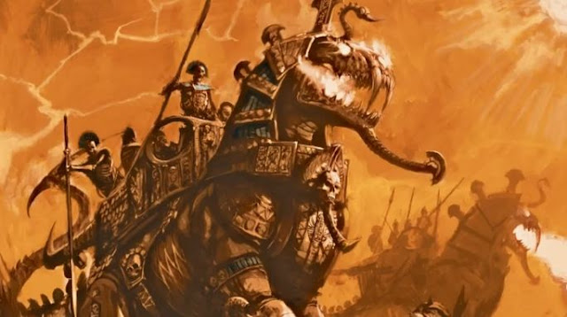 Tomb Kings miniatures models army pics