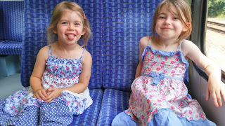 travelling on the train