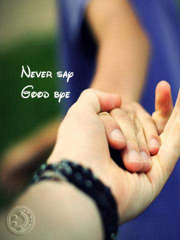 Never say good bye :: Update Status BBM Gratis