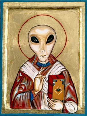 Jesus, an Alien accoding to Marcion's Syrian Gospel