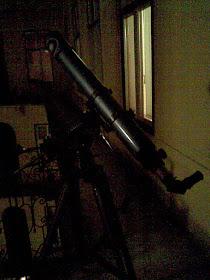 """Gangtávcsővem"" bevetésen...(80/900mm-es SW refraktor)"