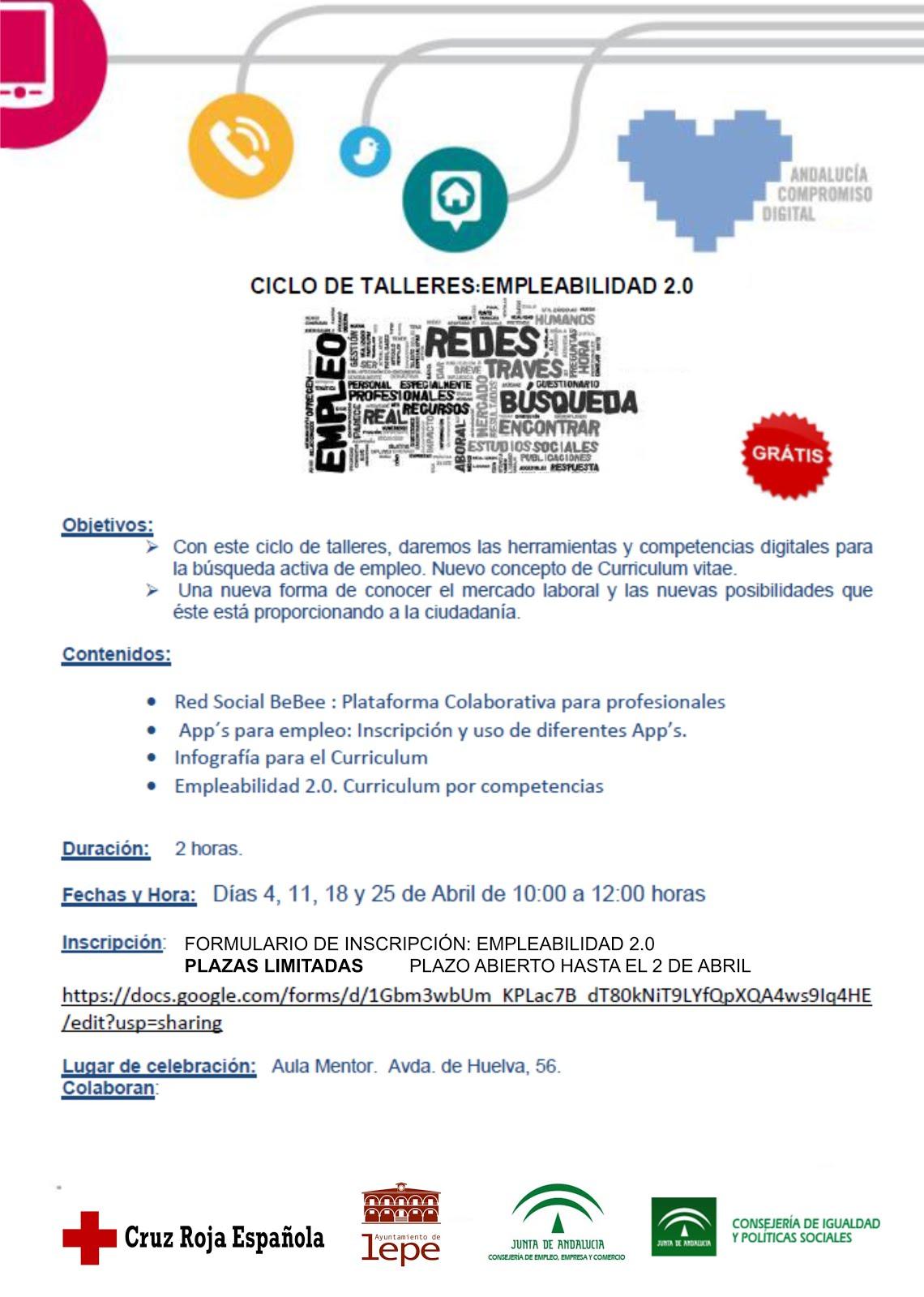 Centro de Información Juvenil: Ciclo de talleres: Empleabilidad 2.0 ...