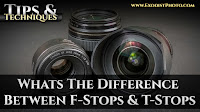 Whats The Difference Between F-Stops & T-Stops, Photo vs. Cinema Lens | Tips & Techniques