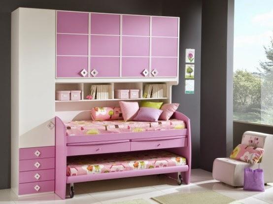 cool girls bedrooms designs pink color woiba