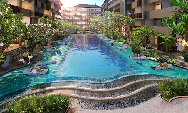 Swimming Pool Swiss-belhotel Kuta