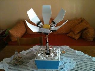flor robô animatronic Arduino